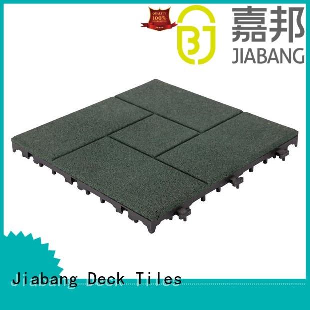 JIABANG Brand direct square rubber mat tiles tiles