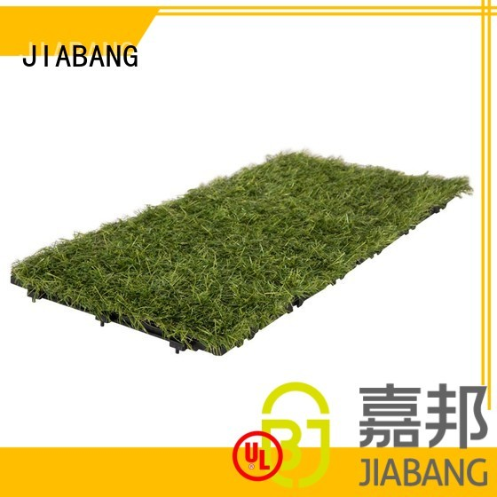 patio balcony floor JIABANG Brand grass floor tiles supplier