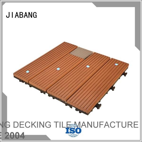 deck tiles solar light tiles garden JIABANG company