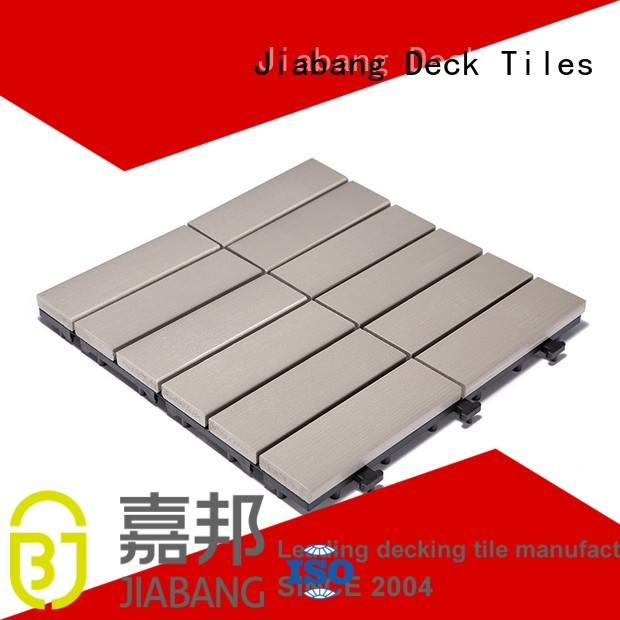 lightweight tile path JIABANG Brand pvc deck tiles manufacture