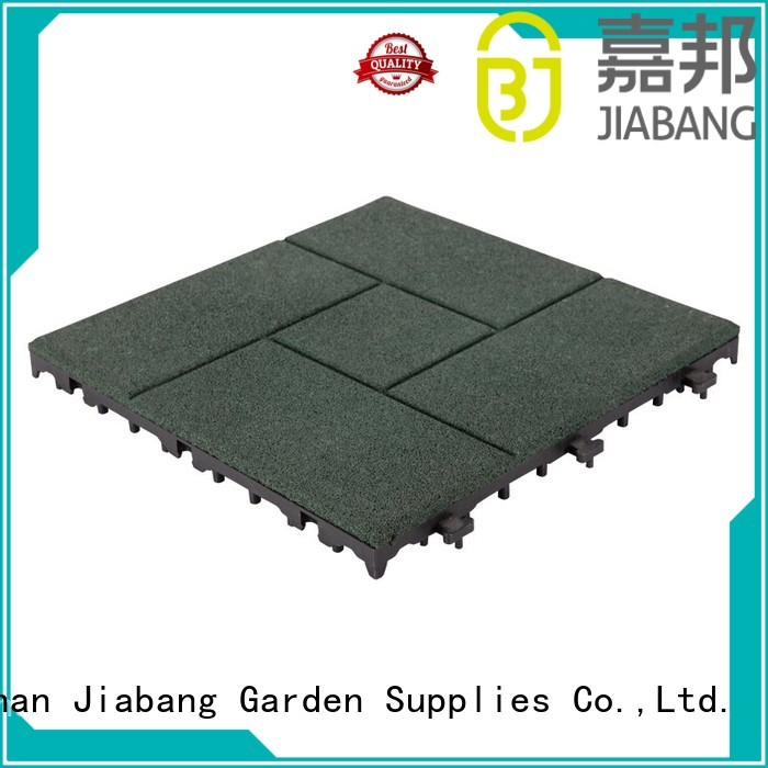 JIABANG Brand floor deck interlock rubber mat tiles