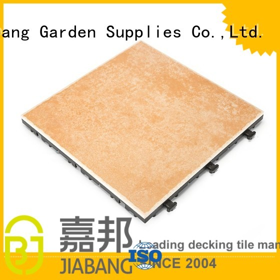 resistant diy anti frost proof tiles for outdoors JIABANG manufacture