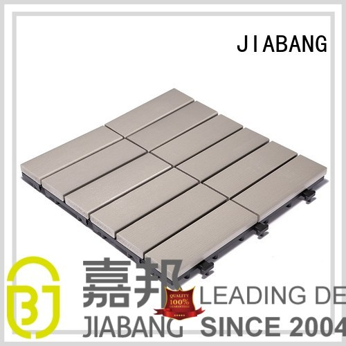 plastic tiles lightweight OEM plastic decking tiles JIABANG