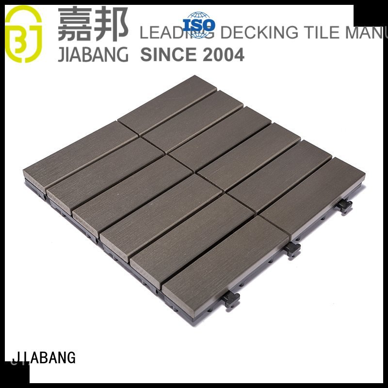 home woodland plastic decking tiles garden JIABANG