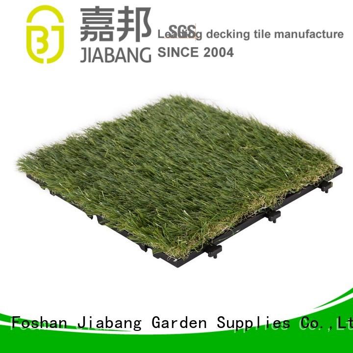 outdoor grass tiles grass deck garden JIABANG Brand company