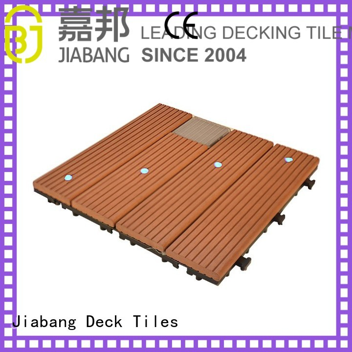Wholesale solar solar light tiles JIABANG Brand