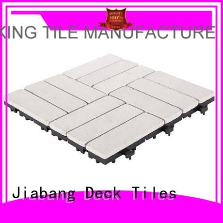 12x12 design JIABANG Brand travertine deck tiles